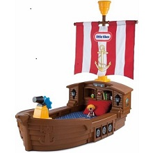 Little Tikes Pirate Ship Toddler Bed.